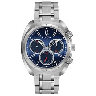 Bulova Curv Men's Chronograph Stainless Steel Bracelet Watch - Product number 5239850