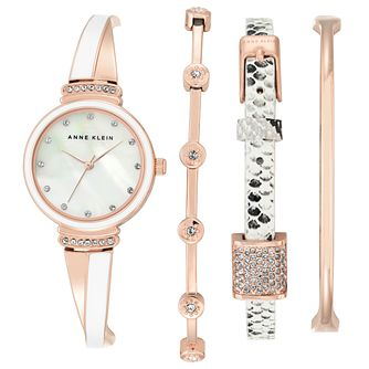Anne Klein Ladies' Swarovski Element Multi Bracelet Watch - Product number 5240042