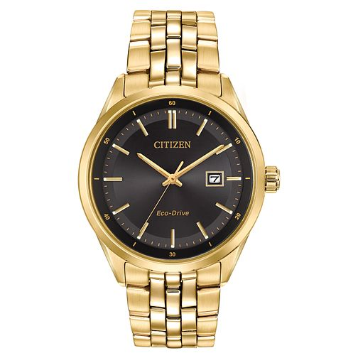 Citizen Eco-Drive Men's Gold-Plated Bracelet Watch - Product number 5240239