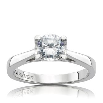 on p rings signature hearts diamond large platinum ring fire context engagement