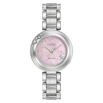 Citizen Eco-Drive L Carina Ladies' Steel Bracelet Watch - Product number 5241847