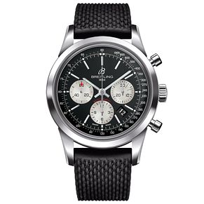 Breitling Transocean Men's Stainless Steel Strap Watch - Product number 5242886