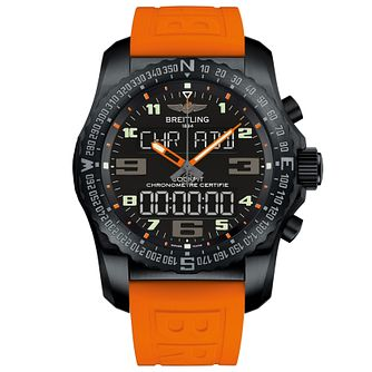 Breitling Cockpit B50 Men's Black Titanium Strap Watch - Product number 5242967