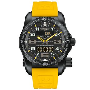 Breitling Professional Emergency Men's Yellow Strap Watch - Product number 5242975