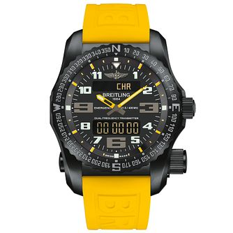 Breitling Emergency Men's Black Titanium Strap Watch - Product number 5242975