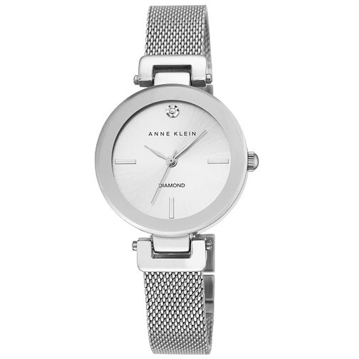 Anne Klein Ladies' Rose Stainless Steel Mesh Bracelet Watch - Product number 5246970