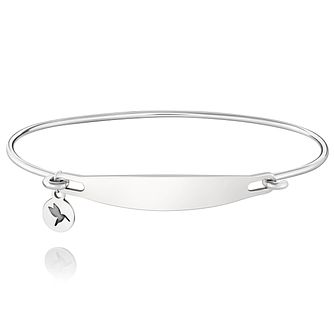 Chamila Sterling Silver Engraveable ID Bangle M/L - Product number 5252253