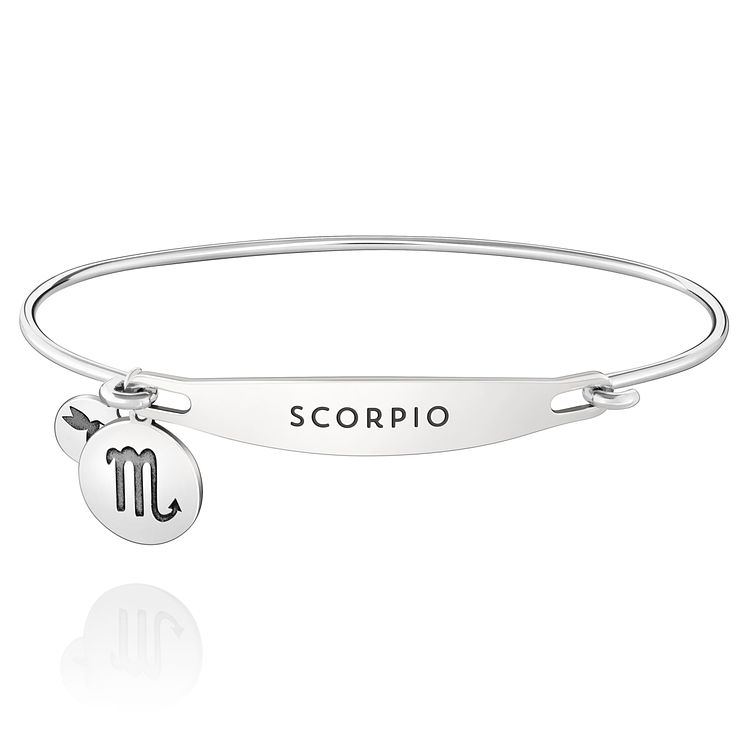 Chamila Sterling Silver Scorpio ID Bangle S/M - Product number 5252326