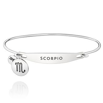 Chamila Sterling Silver Scorpio ID Bangle M/L - Product number 5252334