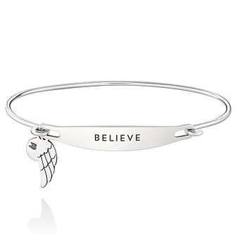Chamila Sterling Silver Believe ID Bangle S/M - Product number 5252369