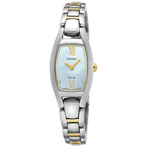Seiko Solar Ladies' 2 Colour Stainless Steel Bracelet Watch - Product number 5252741