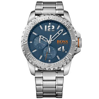 Boss Orange Reykjavik Men's Stainless Steel Bracelet Watch - Product number 5254140