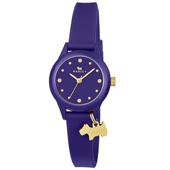 Radley Ladies' Blue Silcon Strap Watch - Product number 5254248