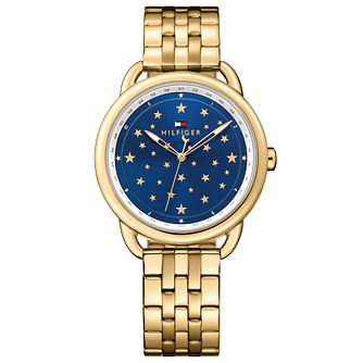 Tommy Hilfiger Ladies' Gold Plated Bracelet Watch - Product number 5254353