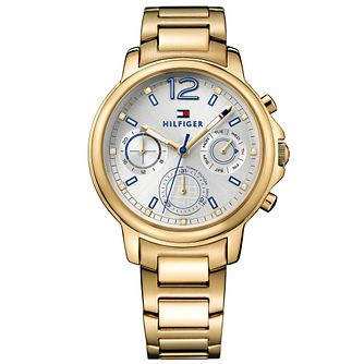 Tommy Hilfiger Ladies' Gold Plated Bracelet Watch - Product number 5254388