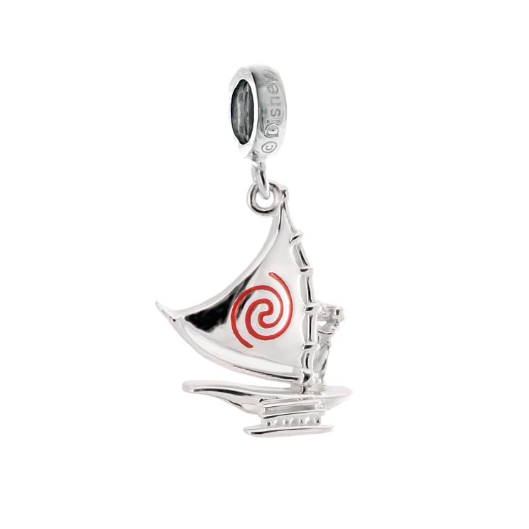 Chamilia Sterling Silver Disney Moana Sets Sail Bead - Product number 5266165