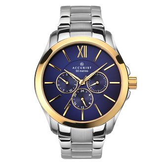 Accurist Men's Gold Plated Bracelet Watch - Product number 5266955