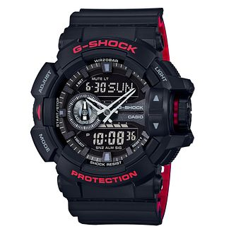 Casio G-Shock Men's World Time Black Resin Strap Watch - Product number 5267099