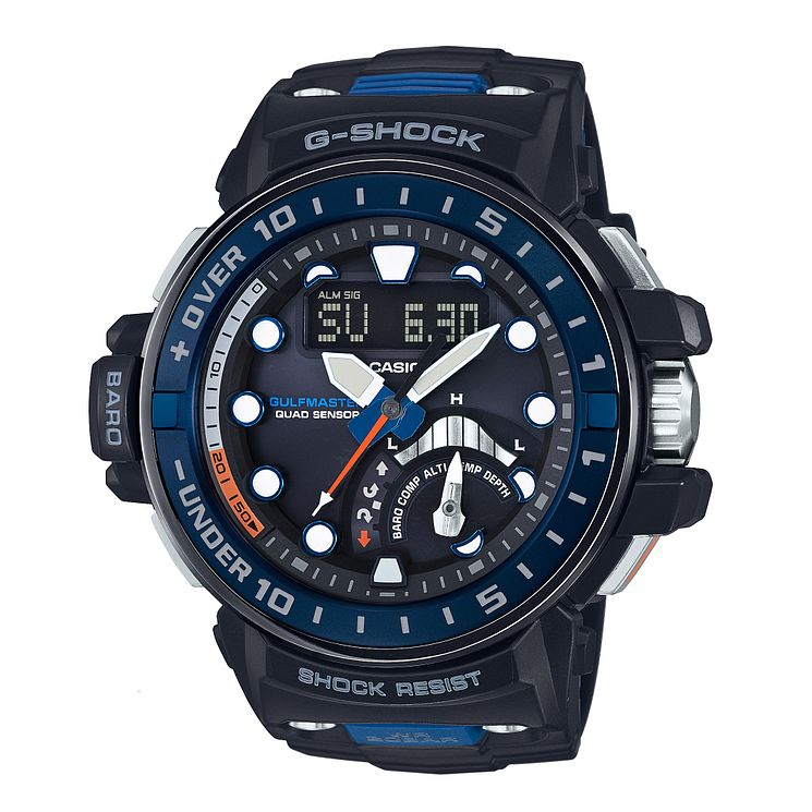 G-Shock Gulfmaster Quad Sensor Black Resin Strap Watch - Product number 5267102