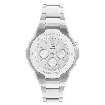 Baby-G Ladies' Stainless Steel Bracelet Watch - Product number 5267161