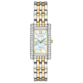 Citizen Eco-Drive Ladies' 2 Colour Steel Bracelet Watch - Product number 5267269