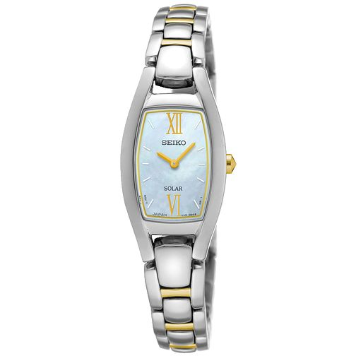 Seiko Conceptual Solar Ladies' Two Colour  Bracelet Watch - Product number 5267587