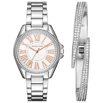 Michael Kors Ladies Stone Set Bracelet Watch  Gift Set - Product number 5268583