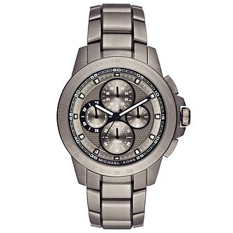 Michael Kors Men's Titanium Bracelet Watch - Product number 5268591