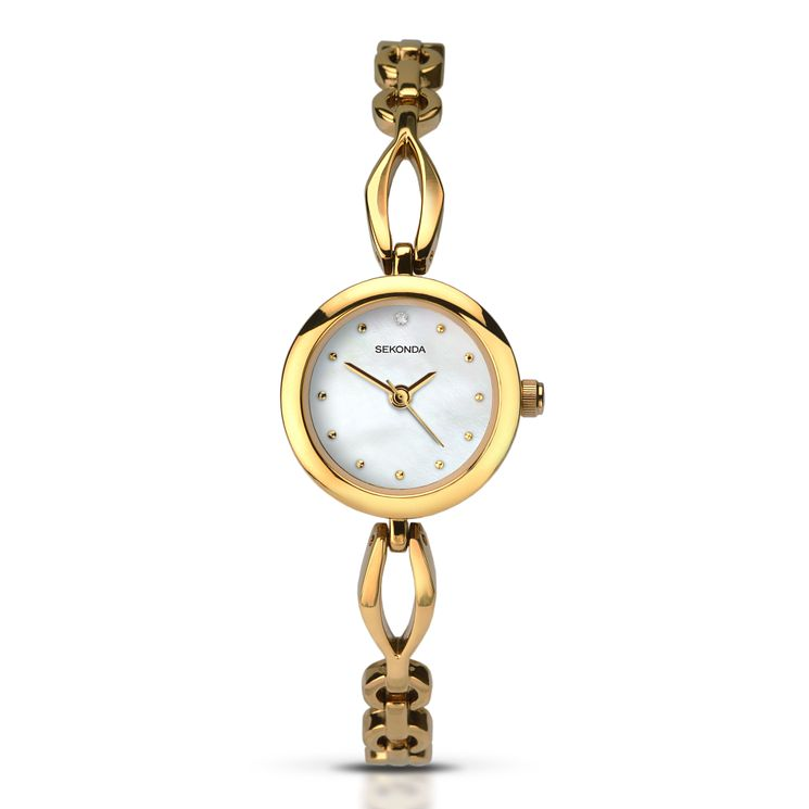 Sekonda Ladies' Gold Plated Bracelet Watch - Product number 5272408