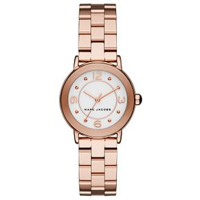 Marc Jacobs Riley Ladies' Rose Gold Tone Bracelet Watch - Product number 5273439