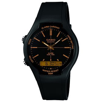 Casio Unisex Black Resin Strap Watch - Product number 5274060
