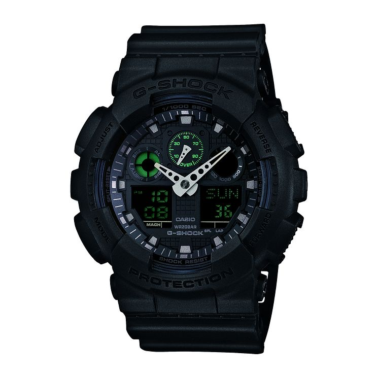G-Shock Men's Black Resin Strap Watch - Product number 5274362