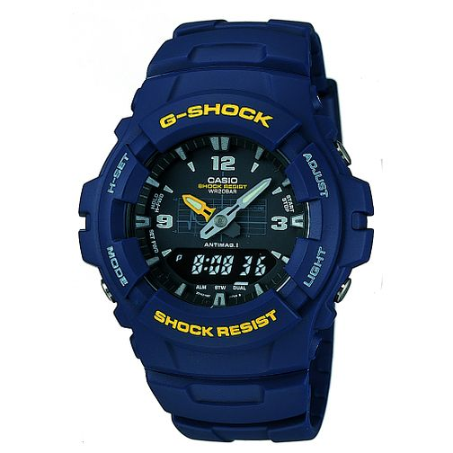 G-Shock Men's Blue Resin Strap Watch - Product number 5275105