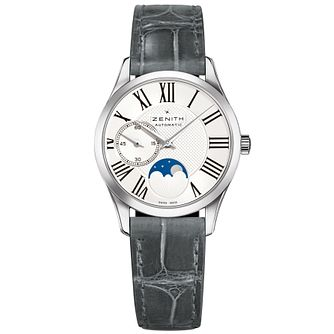 Zenith Elite Moonphase Ladies' Stainless Steel Strap Watch - Product number 5275431