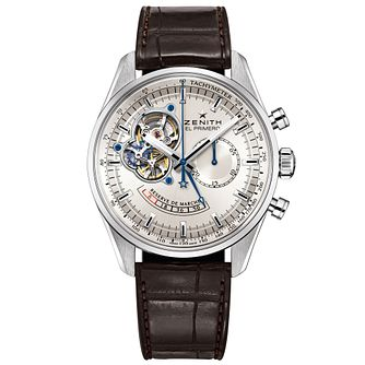 Zenith El Primero Men's Stainless Steel Strap Watch - Product number 5275598