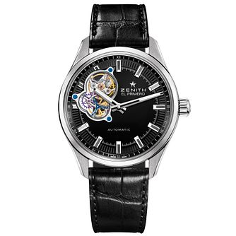 Zenith El Primero Synopsis Men's Stainless Steel Strap Watch - Product number 5275679