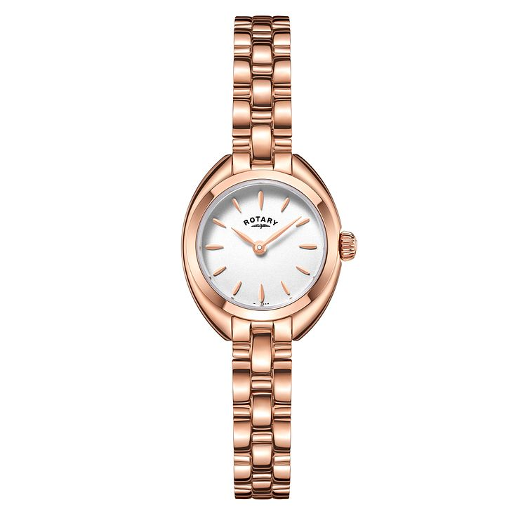 Rotary Ladies' Rose Gold Plated Bracelet Watch - Product number 5276713