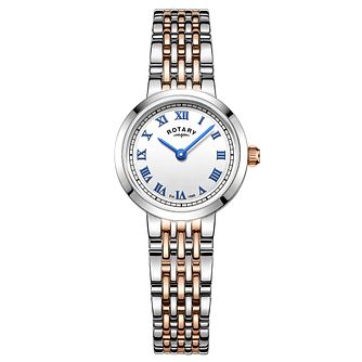 Rotary Ladies' Two Tone Stainless Steel Bracelet Watch - Product number 5276764