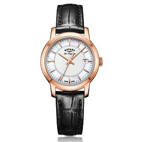 Rotary Ladies' Brown Leather Strap Watch - Product number 5276853