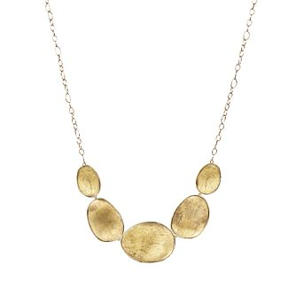 Marco Bicego 18ct Yellow Gold Lunaria Necklace - Product number 5279712