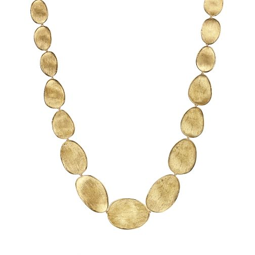 Marco Bicego 18ct Yellow Gold Lunaria Necklace - Product number 5279720