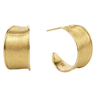 Marco Bicego 18ct Yellow Gold Lunaria Earrings - Product number 5279763