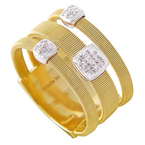 Marco Bicego 18ct Yellow Gold Masai 13pt Diamond Ring - Product number 5280192