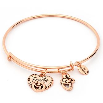 Chrysalis Rose Gold plated Family Bangle - Product number 5282071