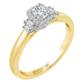 Emmy London 18ct Gold 0.40 Carat Diamond Solitaire Ring - Product number 5287405