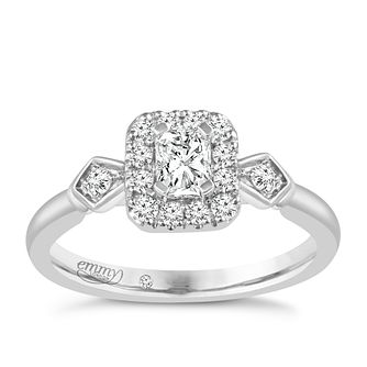 Emmy London Palladium 2/3ct Diamond Ring - Product number 5288215