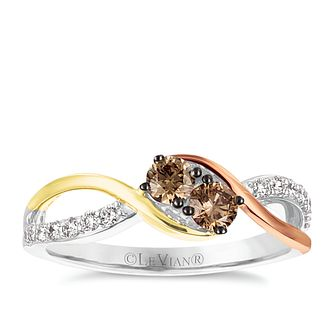 Le Vian 14ct Vanilla Strawberry & Honey Gold Diamond Ring - Product number 5289114