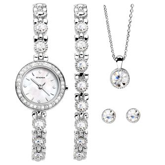 Sekonda Ladies' Bracelet Watch, Bracelet, Pendant & Earrings - Product number 5291682