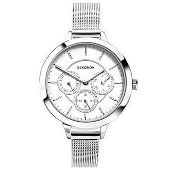 Sekonda Editions Ladies' Stainless Steel Mesh Bracelet Watch - Product number 5291852