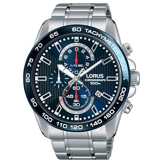 Lorus Men's Chronograph Stainless Steel Bracelet Watch - Product number 5292875